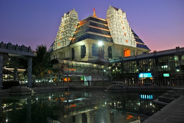 ISKON temple, Bangalore