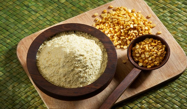 Gram Flour (Besan) for Glowing Skin