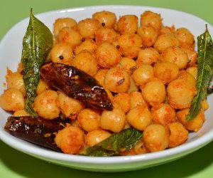 Chickpeas-Sundal