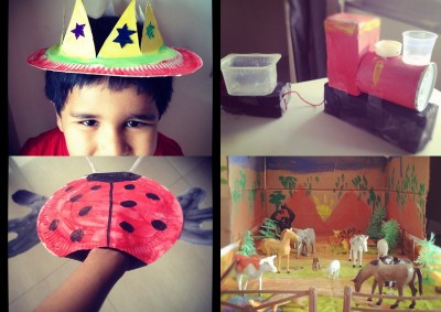 Make Memories with Your Children Using Recycled Goods