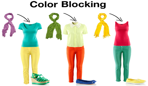 Get Stylish with Color Blocking