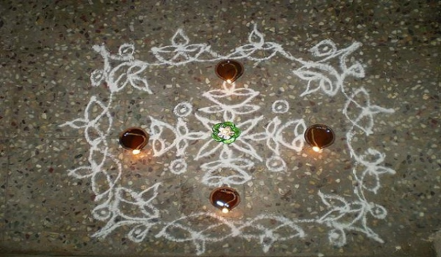 Interesting Significance of Drawing A Kolam