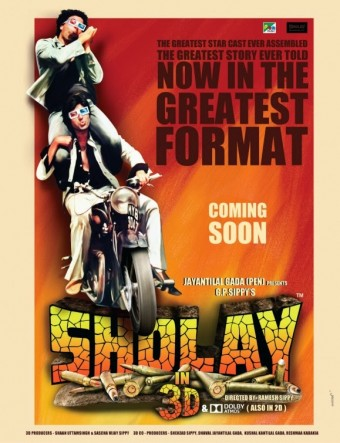 Sholay 3D in Theatres Today