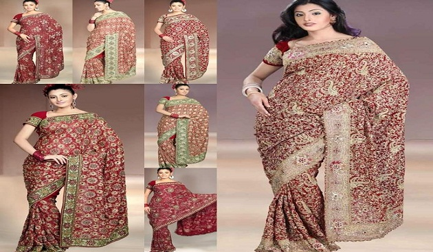 How to Drape an Indian Saree Perfectly