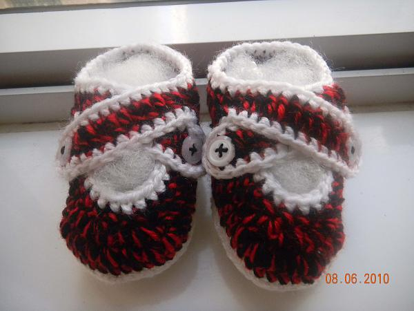 DIY Crochet Tutorial - How to Make Baby Booties?