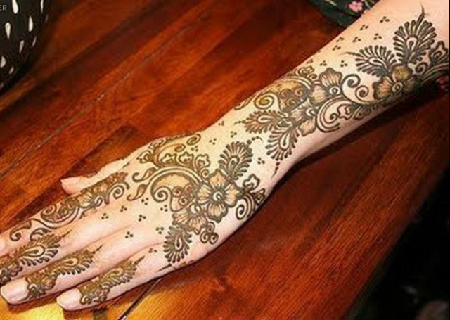16 Best Arabic Mehandi Designs for You