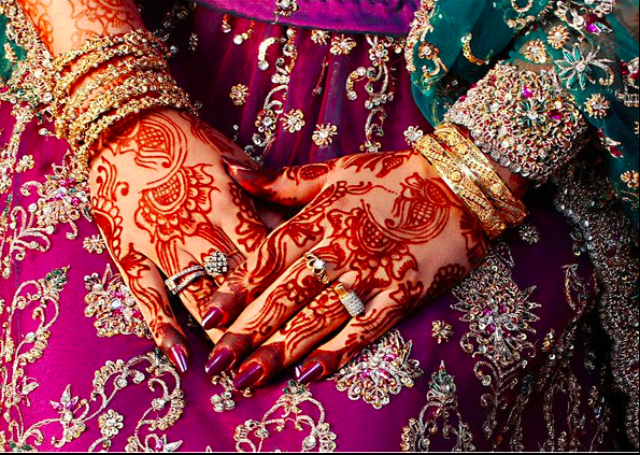 Full Arm Bridal Mehandi Design