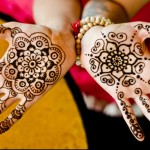 Simple Mehandi Design Intro