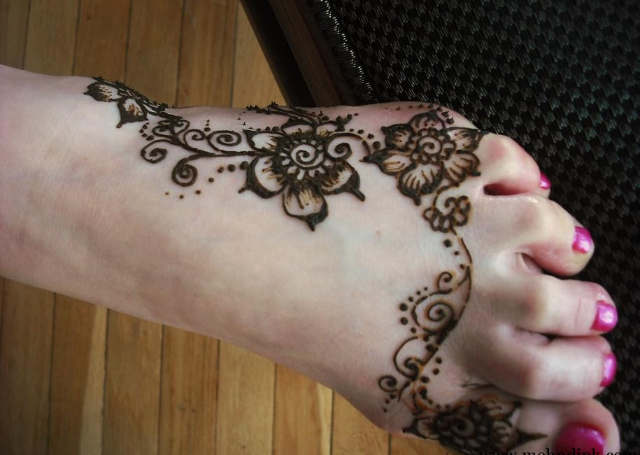 Beautiful feet design
