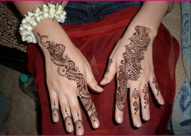 Simple Mango Motif Mehandi