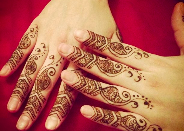 Simple Mehandi Designs for Beginners