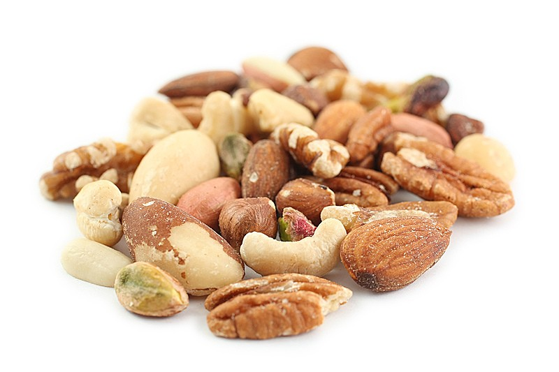 Safety of Consumption of Different Nuts during Pregnancy