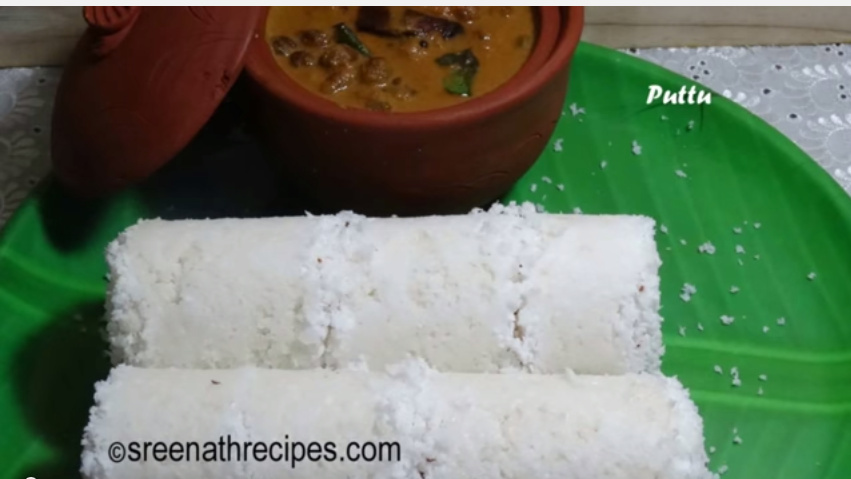 Kerala Rice Puttu Recipe