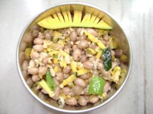 Peanut Mango Sundal