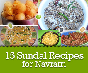 15 Sundal Recipes for Navaratri