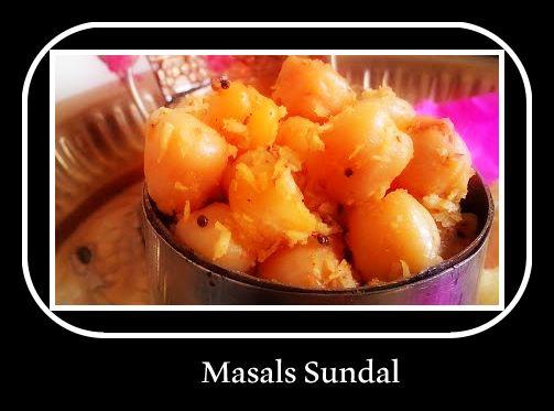 Masala Channa Sundal