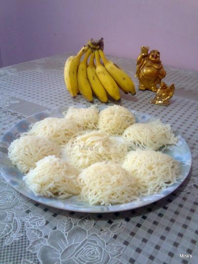 Quick Rava | Semolina Idiyappam