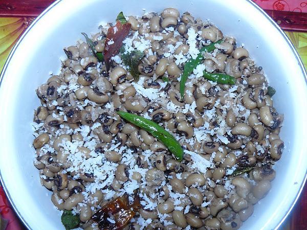 Spicy Karamani sundal