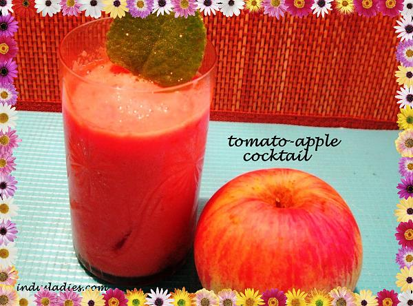 Apple n Tomato Cocktail