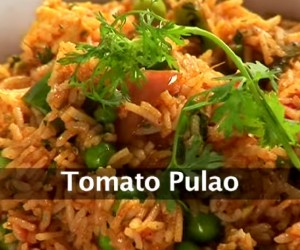 Mumbai tomato pulao
