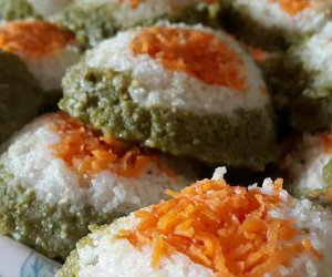 Tricolor |Carrot Spinach Idli