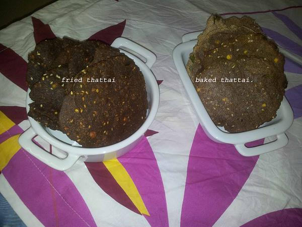 Ragi Thattai | Finger Millet Recipe