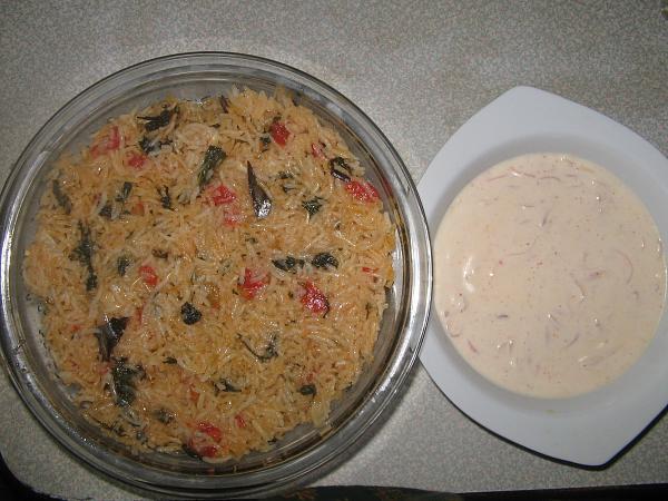 Easy Tomato Bhath