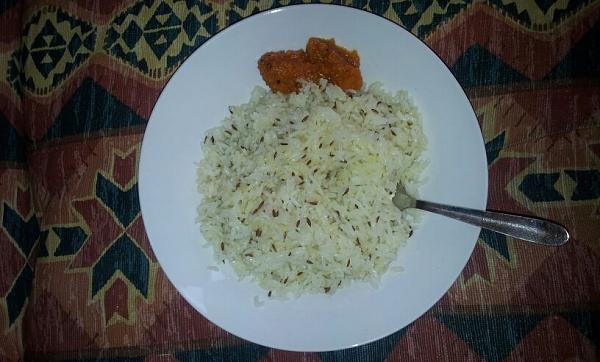 Quick Jeera Rice