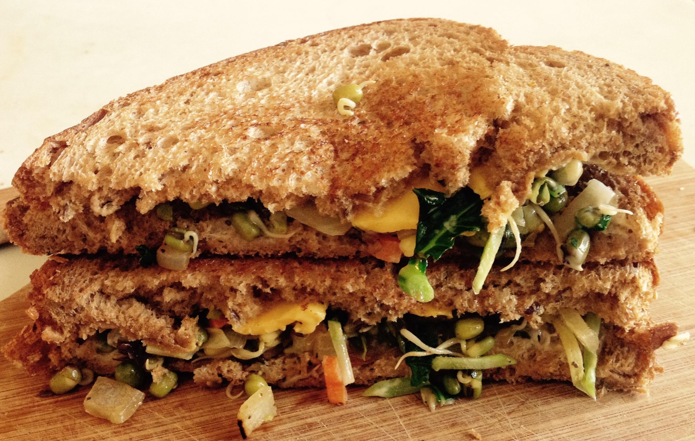 Sprouts Multi grain bread Sandwich