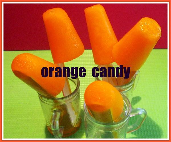 Orange Popsicle