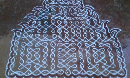 Deck Up Your Frontyard with Margazhi Kolams
